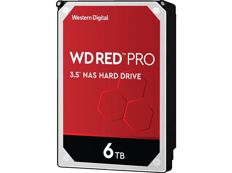 WD Red Pro NAS-Festplatte BULK, 6 TB, HDD, 3,5 Zoll, intern