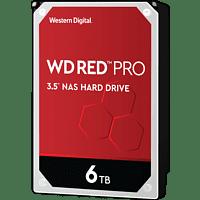 WD Red™ Pro NAS-Festplatte BULK, 6 TB, HDD, 3,5 Zoll, intern