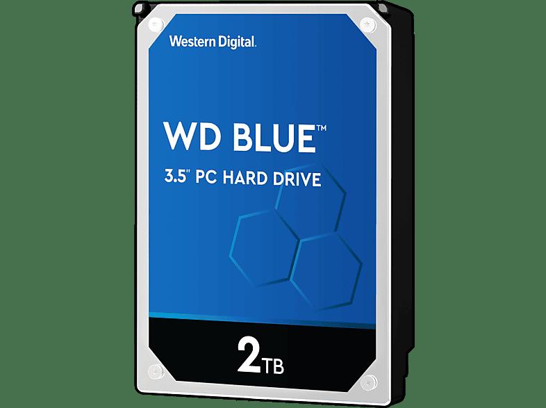 WD Blue™ BULK, 2 TB HDD, 3.5 Zoll, intern