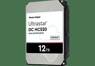 WD DC HC520 Festplatte, 12 TB Interner Speicher SATA 6 Gbps, 3,5 Zoll, intern