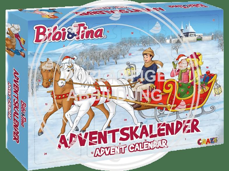 CRAZE ADVENTSKALENDER BIBI UND TINA 2019 Adventskalender, Mehrfarbig