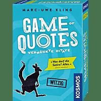 KOSMOS 692926 Game of Quotes Familienspiel, Mehrfarbig
