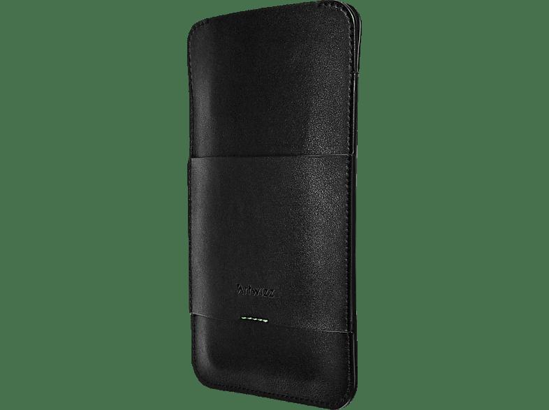 ARTWIZZ PouchPouch Sleeve Motorola Moto G7 Plus Polyurethan im Lederlook Schwarz