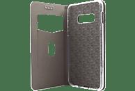 AGM 27735 , Bookcover, Samsung, Galaxy S10e, Obermaterial Kunstleder, Stoff, Thermoplastisches Polyurethan, Kunststoff, Gold