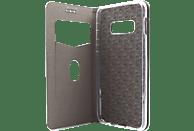AGM 27736 , Bookcover, Samsung, Galaxy S10e, Obermaterial Kunstleder, Stoff, Thermoplastisches Polyurethan, Kunststoff, Marineblau