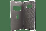 AGM 27734 , Bookcover, Samsung, Galaxy S10e, Obermaterial Kunstleder, Stoff, Thermoplastisches Polyurethan, Kunststoff, Rosegold