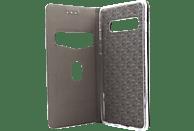 AGM 27753 , Bookcover, Samsung, Galaxy S10, Obermaterial Kunstleder, Stoff, Thermoplastisches Polyurethan, Kunststoff, Rosegold
