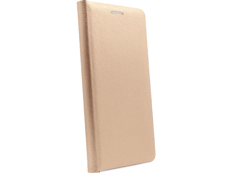AGM 27754 , Bookcover, Samsung, Galaxy S10, Obermaterial Kunstleder, Stoff, Thermoplastisches Polyurethan, Kunststoff, Gold