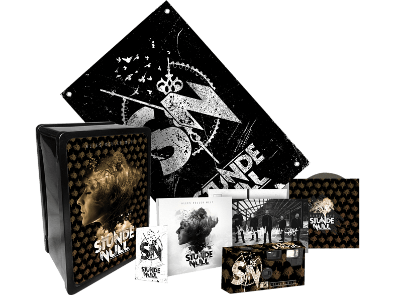 Stunde Null - Alles voller Welt (Limited Boxset) [CD + DVD Video]