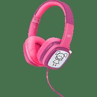 ISY IHP-1001-PK, On-ear Kopfhörer Pink