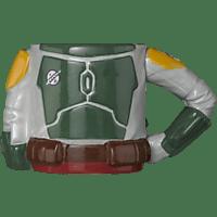 AMS Boba Fett Tasse 3D Torso Tasse, Mehrfarbig