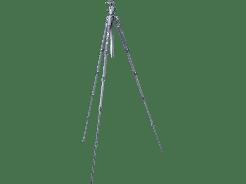 VANGUARD VEO2S 235 CB Karbonstativ  Stativ, Schwarz, Höhe offen bis 1205 mm