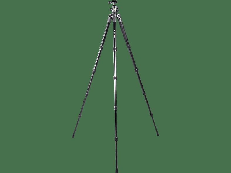 VANGUARD VEO2S 235 AB Alustativ  Stativ, Schwarz, Höhe offen bis 1205 mm