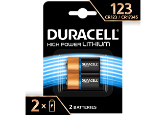 DURACELL Specialty Ultra Lithium 123 Fotobatterie, 2er Pack (DL123A/CR123A)