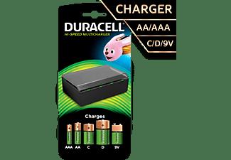 DURACELL CEF 22 Multi Ladegerät für AA, AAA, 9V, C und D