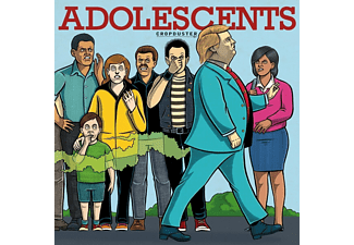 The Adolescents - Cropduster CD