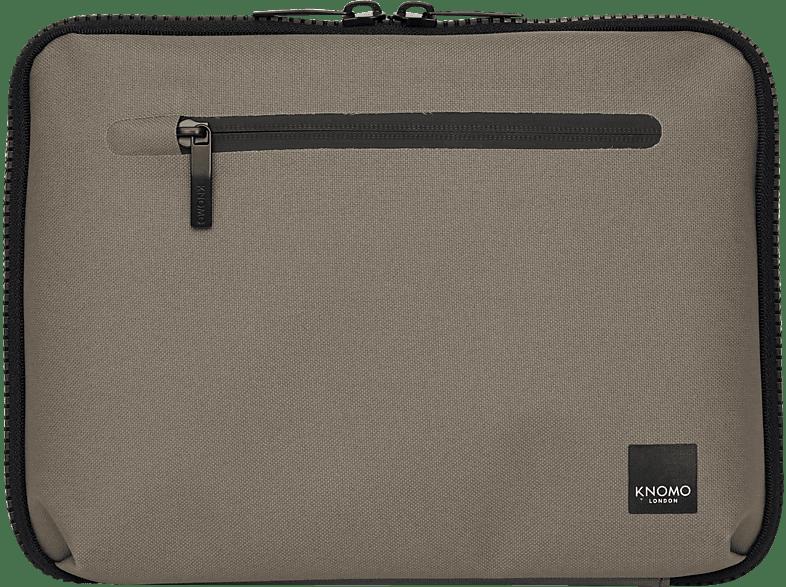 """KNOMO 10.5"""" Tech Organiser mit gepolstertem Tabletfach Tablethülle, Full Cover, 10.5"""", Khaki"""