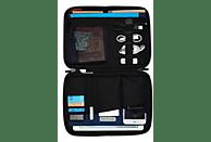 """KNOMO 10.5"""" Tech Organiser mit gepolstertem Tabletfach Tablethülle, Full Cover, 10.5"""", Orange"""