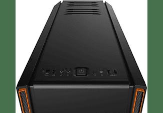 BE QUIET BG025 Silent Base 601 PC Gehäuse, Schwarz/Orange
