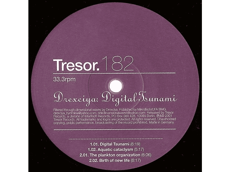 Drexciya - DIGITAL TSUNAMI [Vinyl]