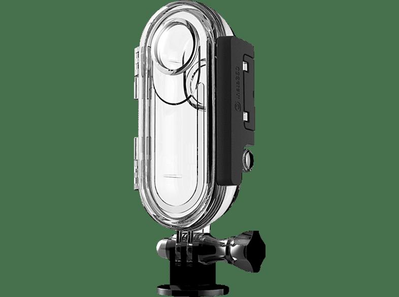 INSTA360 850358, Wasserdichtes Gehäuse, Transparent, passend für Insta360 One