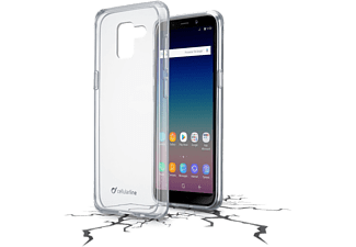 CELLULARLINE Cover Clear Duo Galaxy J6 (2018) Transparent (CLEARDUOGALJ6PL18T)