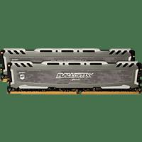 BALLISTIX Sport LT 32 GB (2 x 16 GB) Kit 3000 DIMM DR grau Arbeitsspeicher 32 GB DDR4