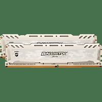 BALLISTIX Sport LT 16 GB (2 x 8 GB) Kit 3000 DIMM SR weiß Arbeitsspeicher 16 GB DDR4
