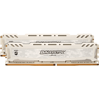 BALLISTIX Sport LT 32 GB (2 x 16 GB) Kit 3000 DIMM DR weiß Arbeitsspeicher 32 GB DDR4