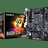 GIGABYTE B450M-S2H Mainboard Grau
