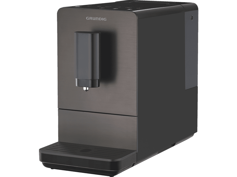 GRUNDIG KVA 4830 Kaffeevollautomat Dark Inox/Schwarz