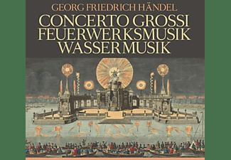 Georg Friedrich Händel - Concerti Grossi,Feuerwerksmusik,Wassermusik  - (CD)