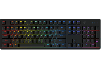 TESORO Gram Spectrum - RGB Mechanikus (Agile Red Switch) gaming billentyűzet - fekete