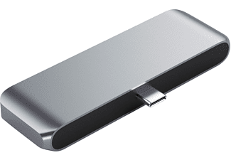 SATECHI Mobile Pro Hub USB-Hub, Space Gray