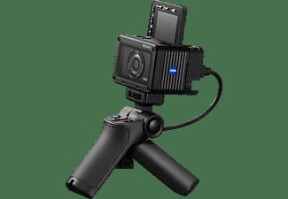 SONY DSC-RX0 M2 Zeiss + Aufnahmegriff (VCT-SGR1) Digitalkamera Schwarz, Nein opt. Zoom, TFT-LC, WLAN