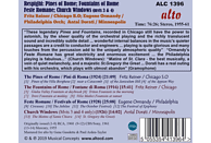 Chicago Symphony Orchestra, Philadelphia Orchestra, Minneapolis Symphony Orchestra - Respighi: Pines, Fountains & Festivals Of Rome / Church Windwos [CD]