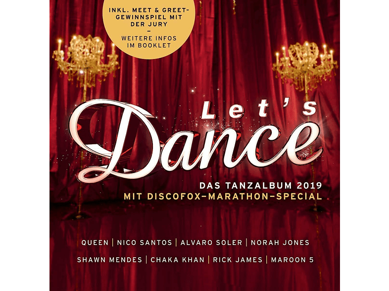 VARIOUS - Let's Dance - Das Tanzalbum 2019 [CD]