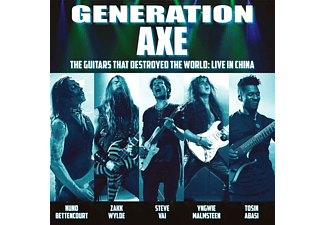 Vai/Wylde/Malmsteen/Bettencourt/Abasi - Generation Axe:Guitars That Destroyed The World  - (CD)