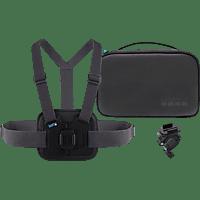 GOPRO AKTAC-001 Sports Kit, Sport-Kit, Schwarz, passend für alle HERO Kameras