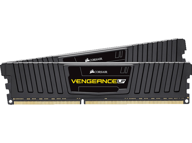 CORSAIR Vengeance Low Profile 8GB (2x4GB) DDR3 1600 Mhz CL9 XMP Performance Arbeitsspeicher 4 GB DDR3