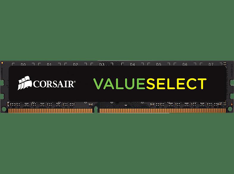 CORSAIR ValueSelect DIMM 4 GB DDR3-1600, Arbeitsspeicher Arbeitsspeicher 4 GB DDR3