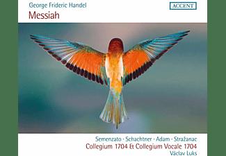 Giulia Semenzato, Benno Schachtner, Krystian Adam, Kresimir Strazanac - MESSIAH HWV 56  - (CD)