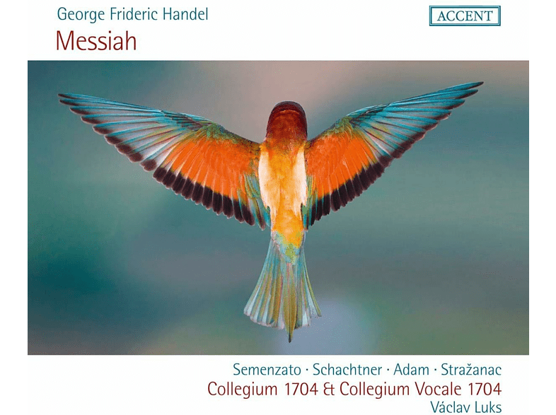 Giulia Semenzato, Benno Schachtner, Krystian Adam, Kresimir Strazanac - MESSIAH HWV 56 [CD]