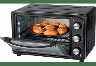 Mini horno - Jata HN928, Potencia 1500 W, Capacidad 28 L, Temporizador de 60 min, Termostato