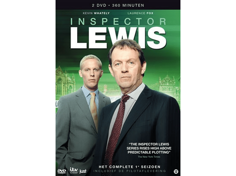 Inspector Lewis: Het Complete Eerste Seizoen - DVD