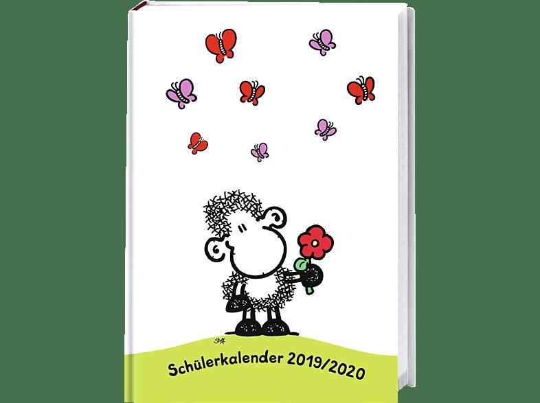 ATHESIA SHEEPWORLD SCHÜLERKALENDER A6 Kalender, Mehrfarbig