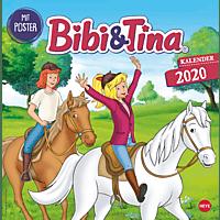 ATHESIA BIBI UND TINA TV BROSCHURKALENDER Kalender, Mehrfarbig