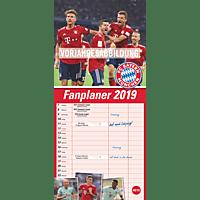 ATHESIA FCB FANPLANER Kalender, Mehrfarbig