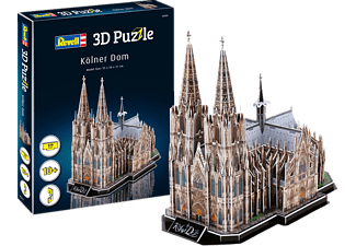 REVELL Kölner Dom 3D Puzzle, Mehrfarbig