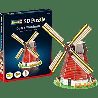 REVELL Windmühle 3D Puzzle, Mehrfarbig
